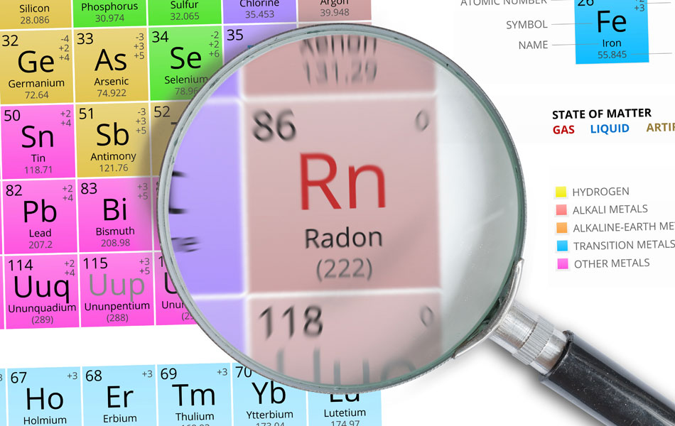 Radon Testing Inspection